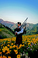 Bagpiper Flowers