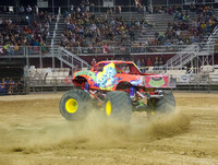 Monster Trucks, Utah county Fair 2014